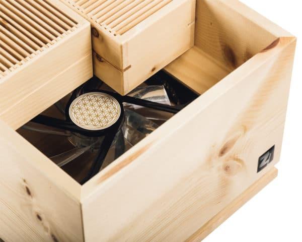 ZirbenLuefter-Cube-Pure-Luftreiniger-Luftbefeuchter-Asthma