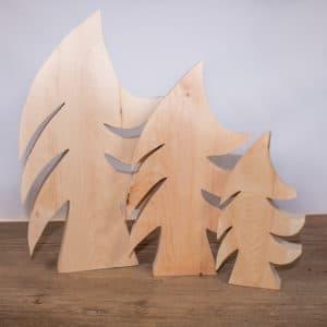 Drei Zirbenbäume