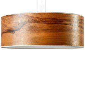 LeuchtNatur® Discus Pendelleuchte aus Nussbaum